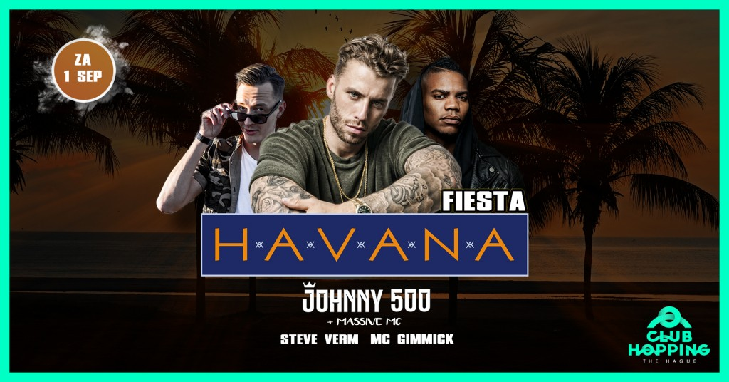 Johnny 500 Havana x Clubhopping banner